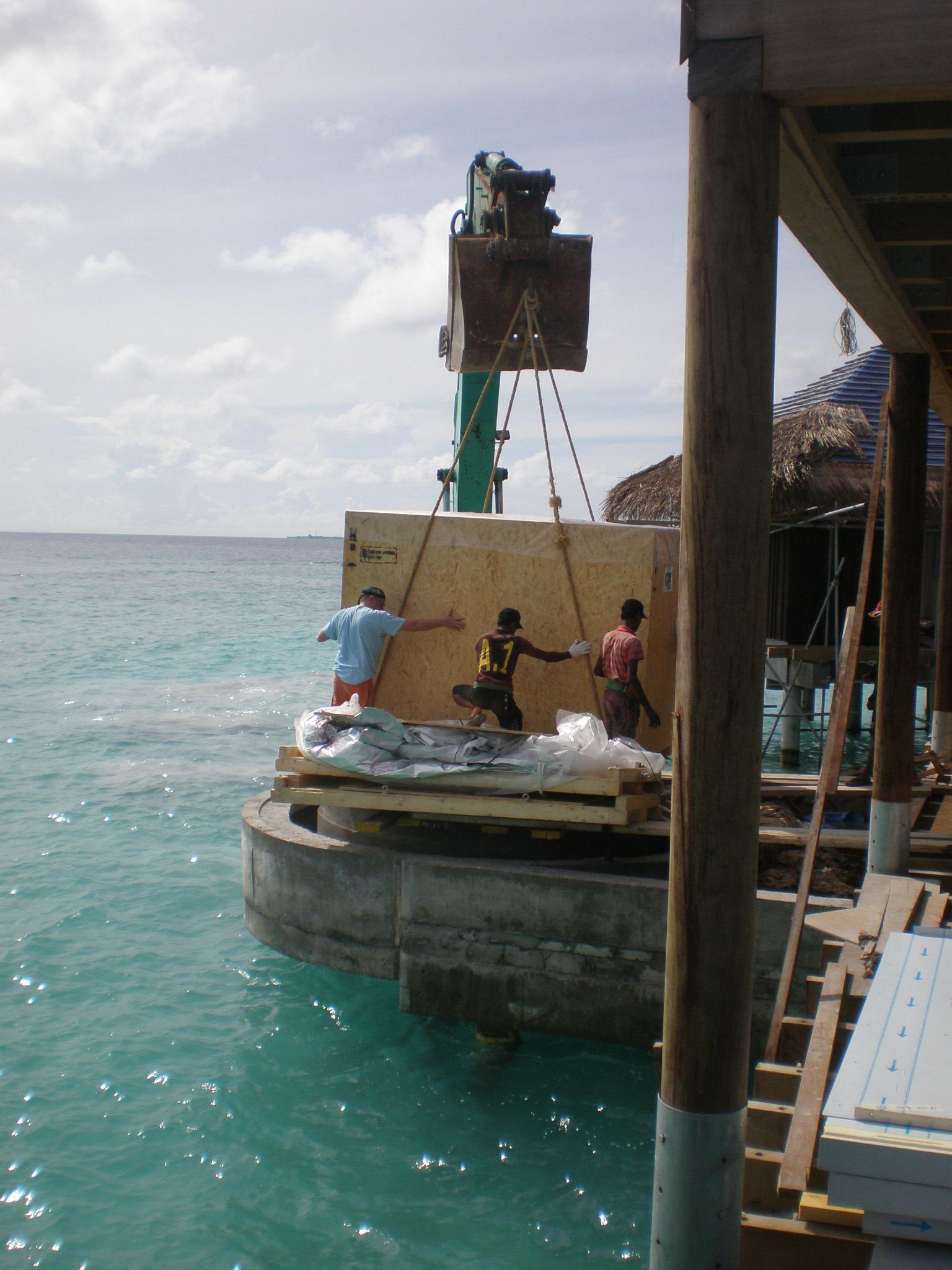 Ab auf die Malediven!
